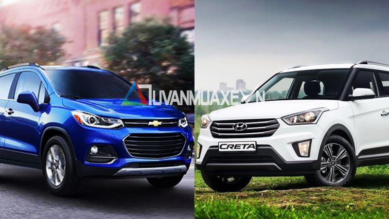 So sánh xe Chevrolet Trax và Hyundai Creta tầm giá 800 triệu - Ảnh 1