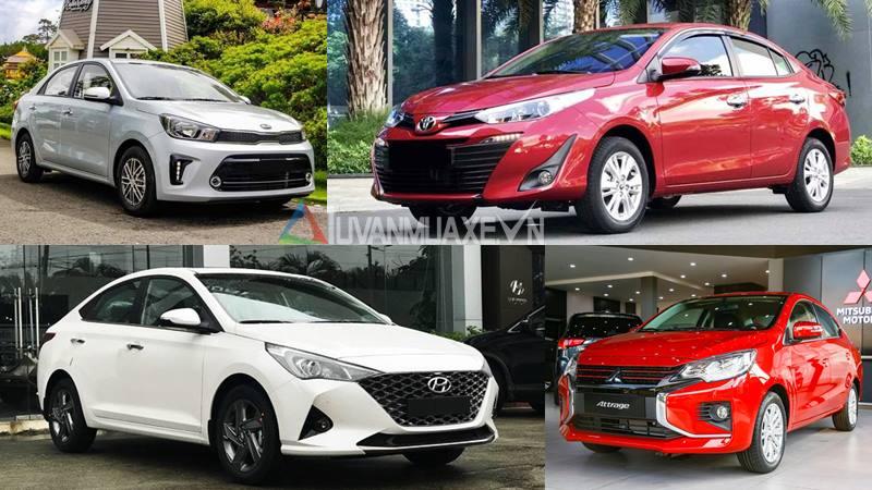So sánh xe sedan dưới 500 triệu - Soluto, Attrage, Accent, Vios - Ảnh 1