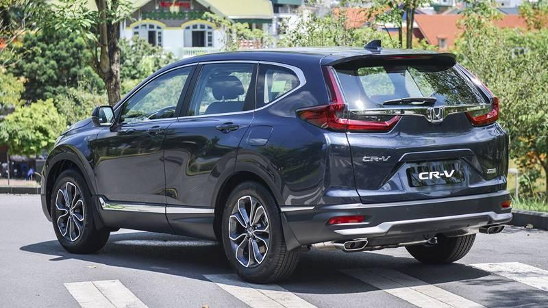 So sánh xe Mazda CX-8 và Honda CR-V 2020 - Ảnh 6