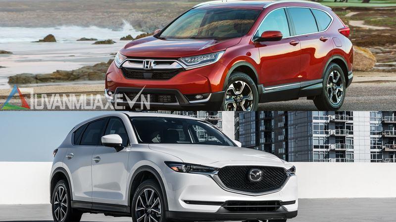 So sánh xe Mazda CX-5 2018 và Honda CR-V 2018 bản cao cấp - Ảnh 16