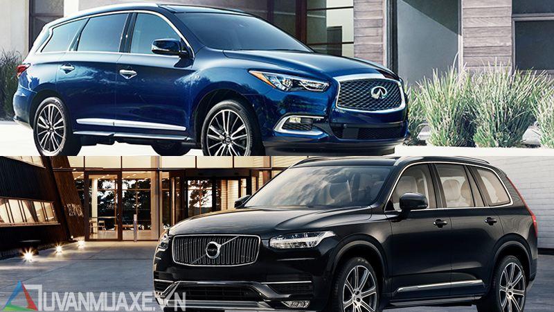 So sánh xe Infiniti QX60 và Volvo XC90 2018 tại Việt Nam - Ảnh 13