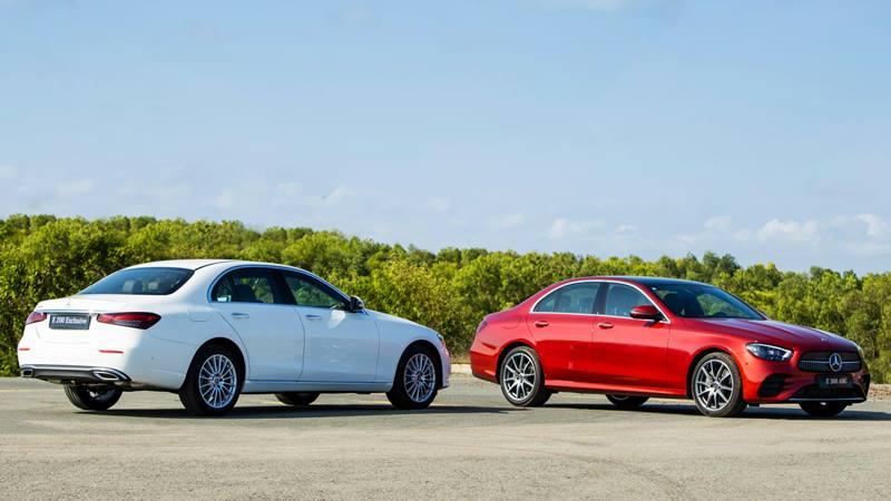 So sánh khác biệt Mercedes E 200 Exclusive 2021 và E 300 AMG 2021 - Ảnh 2
