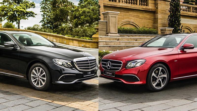 So sánh khác biệt giữa Mercedes E200 và E200 Sport mới tại Việt Nam - Ảnh 1