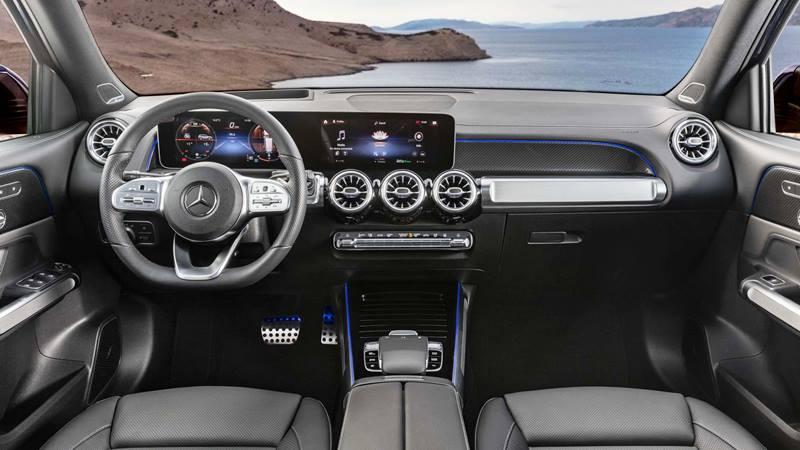 So sánh xe Mercedes GLC200 và Mercedes GLB200 7 chỗ mới - Ảnh 4