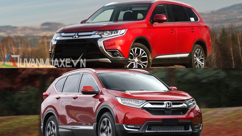 So sánh xe Mitsubishi Outlander và Honda CR-V 2018 bản 7 chỗ - Ảnh 16