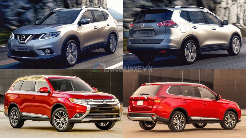 so-sanh-nissan-x-trail-vs-mitsubishi-outlander-2016-1