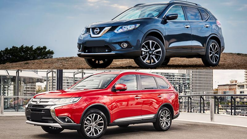 so-sanh-nissan-x-trail-vs-mitsubishi-outlander-2016