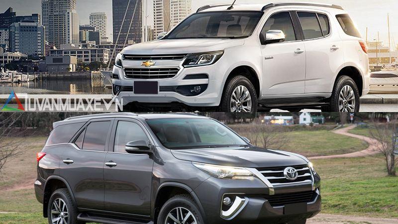 So sánh xe Toyota Fortuner và Chevrolet Trailblazer 2018 - Ảnh 14