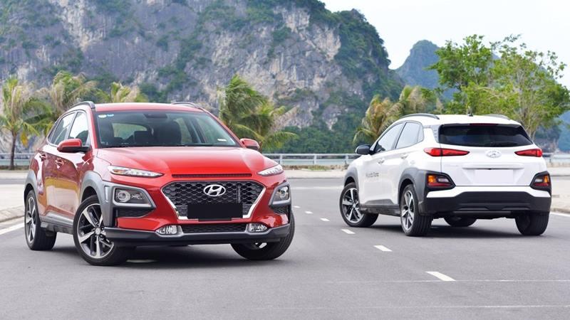 So sánh trang bị 3 phiên bản xe Hyundai Kona 2020 tại Việt Nam