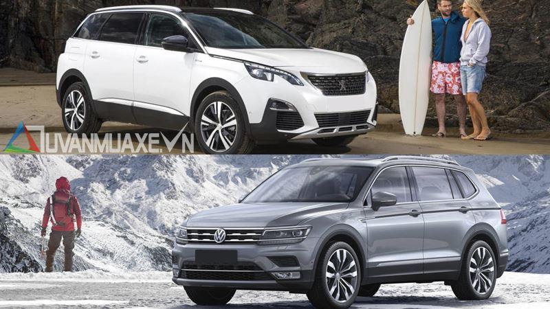 So sánh xe Volkswagen Tiguan Allspace 2018 và Peugeot 5008 2018 - Ảnh 16