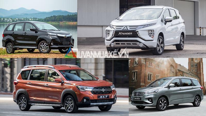 So sánh xe 7 chỗ giá 600 triệu - Xpander, Ertiga, Avanza, XL7 - Ảnh 1