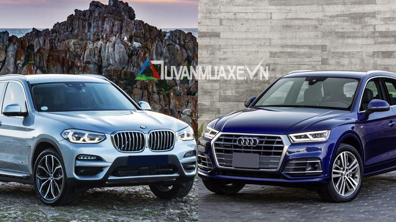 So sánh xe BMW X3 2019 và Audi Q5 2019 bản cao cấp - Ảnh 1