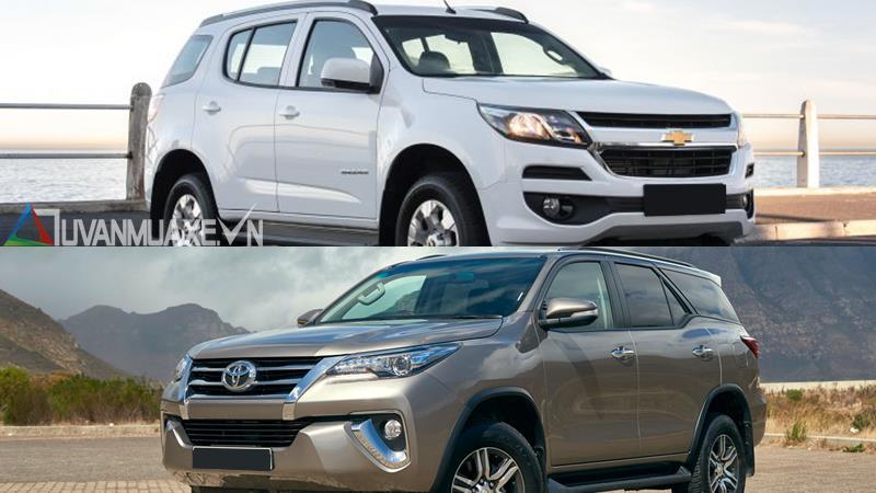 So sánh Toyota Fortuner va Chevrolet Trailblazer - Hình 2