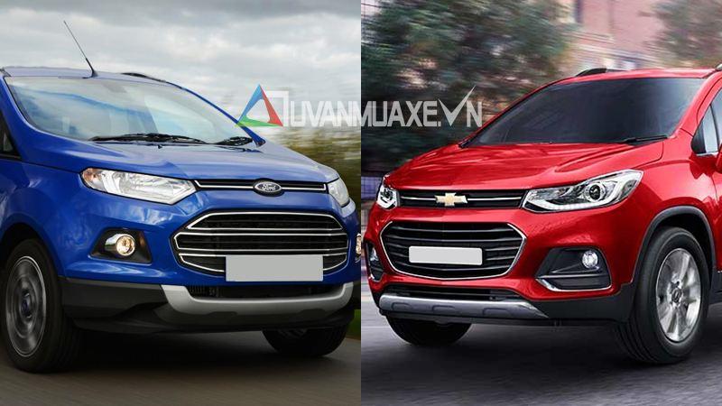 So sánh xe Ford EcoSport và Chevrolet Trax 2017 - Ảnh 1