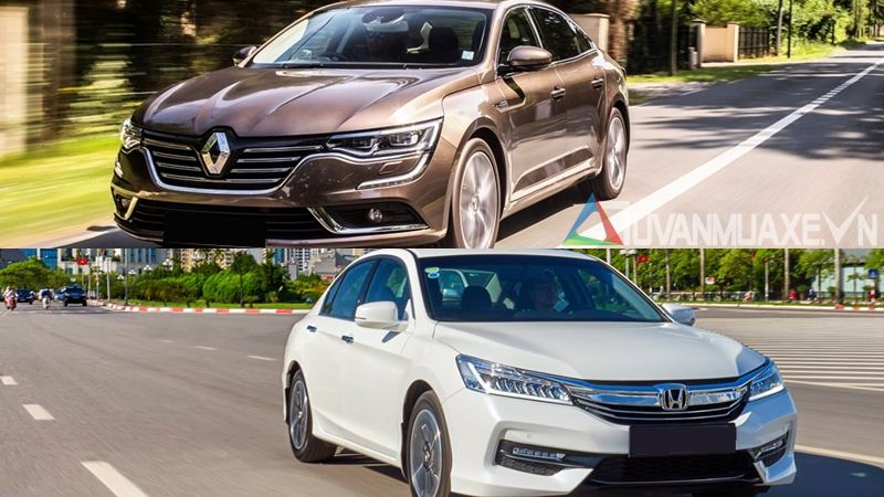 Nên mua Honda Accord hay Renault Talisman 2017? 1