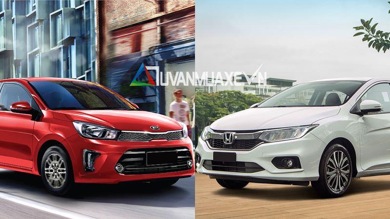 So sánh xe KIA Soluto 2019 và Honda City 2019 - Ảnh 1