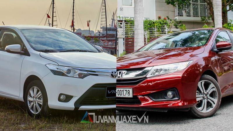So sánh xe Honda City và Toyota Vios 2017 - Ảnh 1