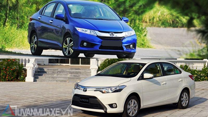 So sánh xe Honda City và Toyota Vios 2017 - Ảnh 14