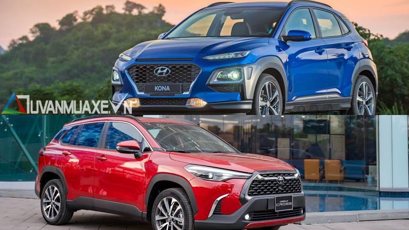 So sánh xe Hyundai Kona và Toyota Corolla Cross mới - Ảnh 14