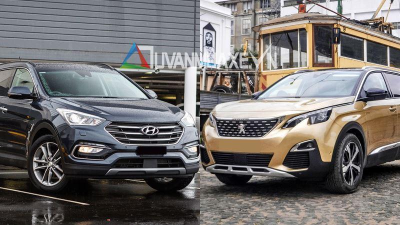 So sánh xe 7 chỗ Hyundai SantaFe 2018 và Peugeot 5008 2018 - Ảnh 1