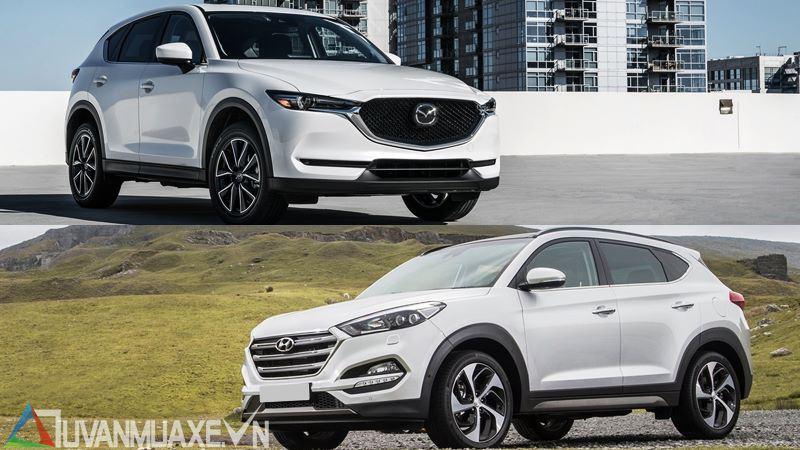 So sánh xe Hyundai Tucson 2018 và Mazda CX-5 2018 bản cao cấp - Ảnh 16