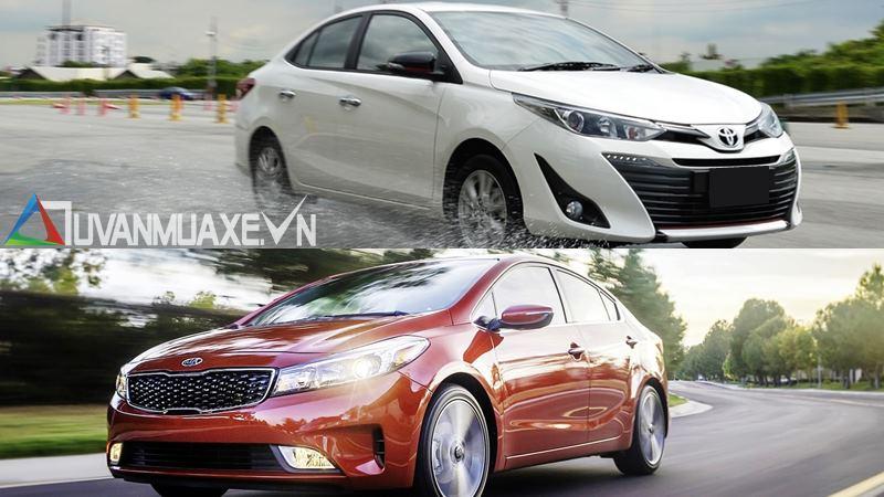 so sánh xe KIA Cerato 1.6AT và Toyota Vios G 2018-2019 mới - Ảnh 14