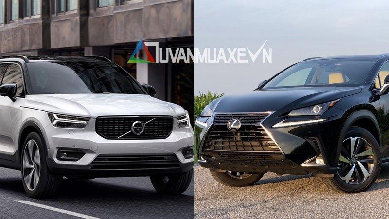 So sánh xe Lexus NX300 2019 và Volvo XC40 2019 tại Việt Nam - Ảnh 1