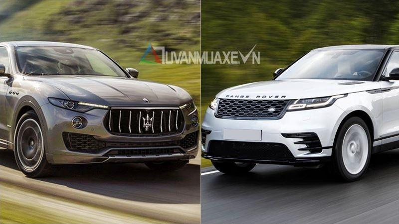 So sánh xe Maserati Levante và Land Rover Range Rover Velar 2018 - Ảnh 1