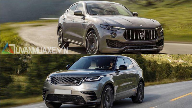 So sánh xe Maserati Levante và Land Rover Range Rover Velar 2018 - Ảnh 11