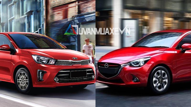 So sánh xe KIA Soluto 2019 và Mazda 2 Sedan 2019 - Ảnh 1