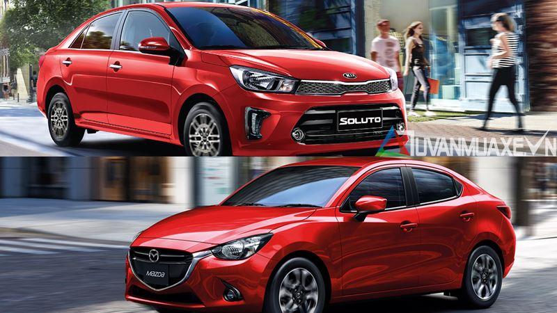 So sánh xe KIA Soluto 2019 và Mazda 2 Sedan 2019 - Ảnh 14