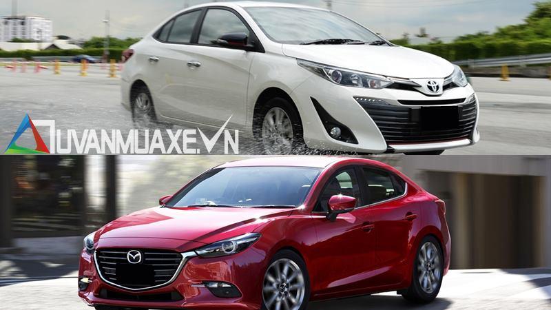 So sánh xe Mazda 3 và Toyota Vios G 2018-2019 mới - Ảnh 14