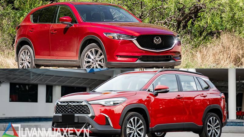 So sánh xe Mazda CX-5 và Toyota Corolla Cross 2020 mới - Ảnh 14