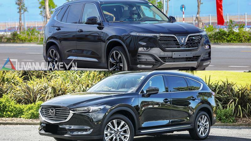 So sánh xe VinFast LUX SA2.0 và Mazda CX-8 2019 ở tầm giá 1,4 tỷ đồng - Ảnh 18