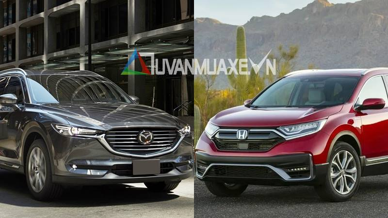 So sánh xe Mazda CX-8 và Honda CR-V 2020 - Ảnh 1