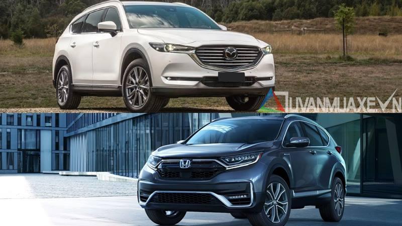 So sánh xe Mazda CX-8 và Honda CR-V 2020 - Ảnh 14