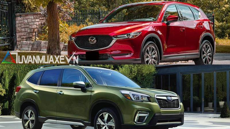 So sánh xe Mazda CX-5 2020 và Subaru Forester 2020 - Ảnh 14