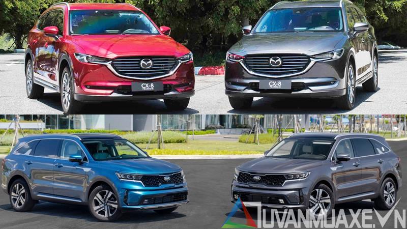 So sánh xe Mazda CX-8 và KIA Sorento 2021 - Ảnh 14