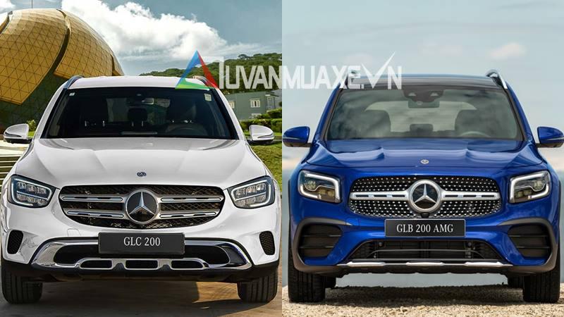 So sánh xe Mercedes GLC200 và Mercedes GLB200 7 chỗ mới - Ảnh 1