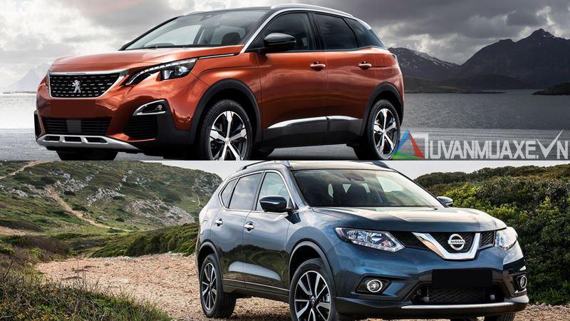 So sánh xe Nissan X-Trail 2018 và Peugeot 3008 2018 - Ảnh 18
