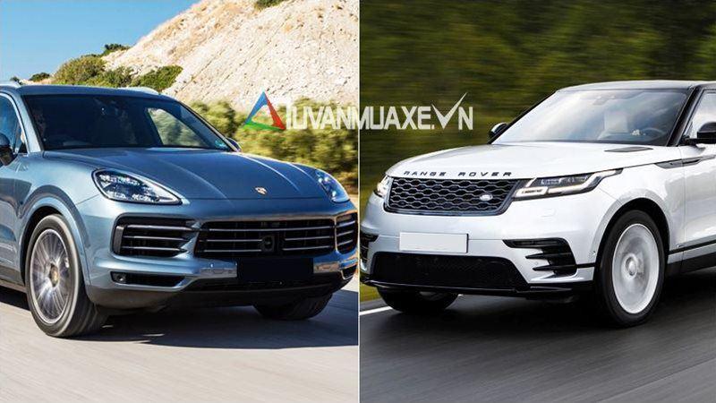 So sánh xe Porsche Cayenne và Land Rover Range Rover Velar 2018 - Ảnh 1