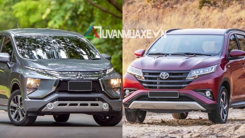 So sánh xe Toyota Rush và Mitsubishi Xpander 2018-2019 tại Việt Nam - Ảnh 1