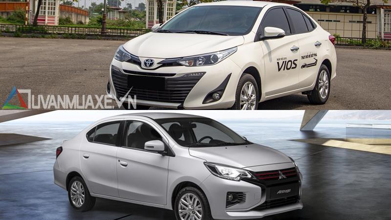 So sánh xe Toyota Vios 2020 và Mitsubishi Attrage 2020 mới - Ảnh 14