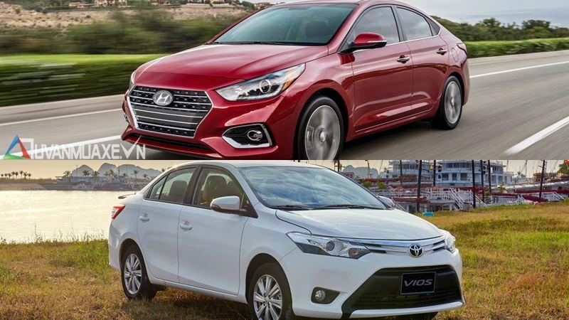 So sánh xe Toyota Vios 2018 và Hyundai Accent 2018 - Ảnh 12