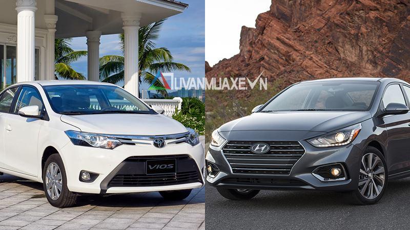 So sánh xe Toyota Vios 2018 và Hyundai Accent 2018 - Ảnh 1
