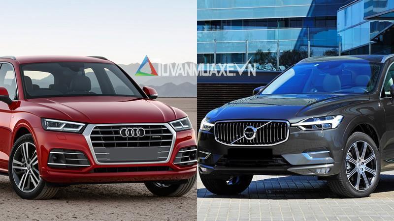 So sánh xe Audi Q5 2018 và Volvo XC60 2018 - Ảnh 1