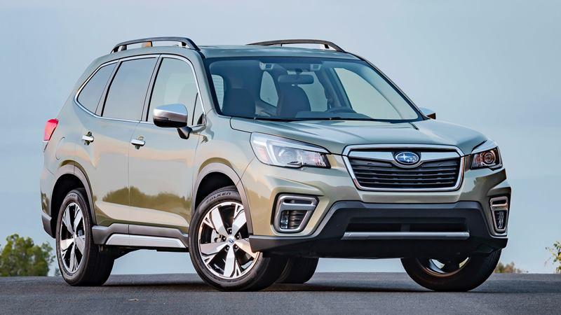 So sánh xe Mazda CX-5 2020 và Subaru Forester 2020 - Ảnh 3