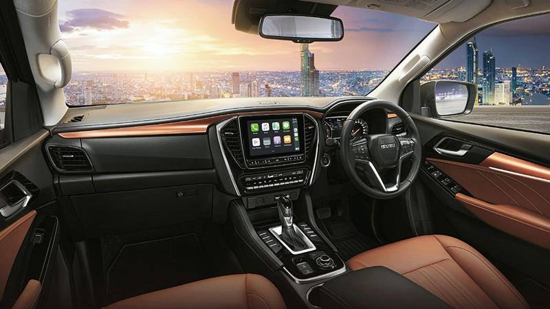SUV 7 chỗ Isuzu MU-X 2021 thế hệ mới - Ảnh 3