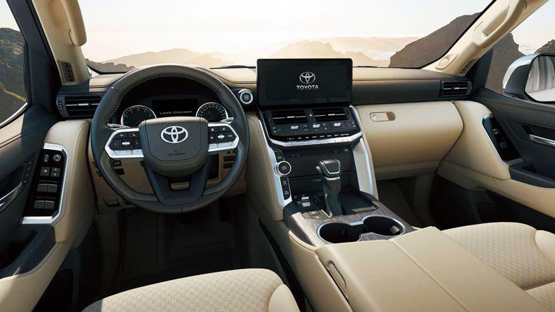 Thông số và trang bị xe Toyota Land Cruiser 2021-2022 tại Việt Nam - Ảnh 5