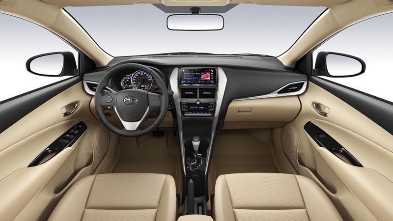so sánh xe KIA Cerato 1.6AT và Toyota Vios G 2018-2019 mới - Ảnh 9